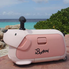 Vakantie Musthaves: Bontoy Traveller: handbagage koffer en loopdier in één