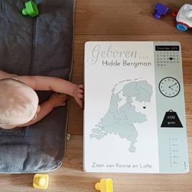 Review herinneringskist met geboortegegevens | Lotte
