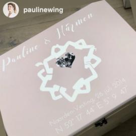 Herinneringskist trouwlocatie | Pauline Wingelaar