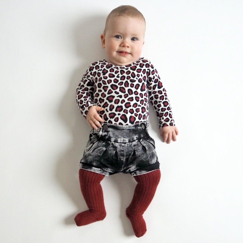 Outfit of the day: Bordeaux rood en panterprint