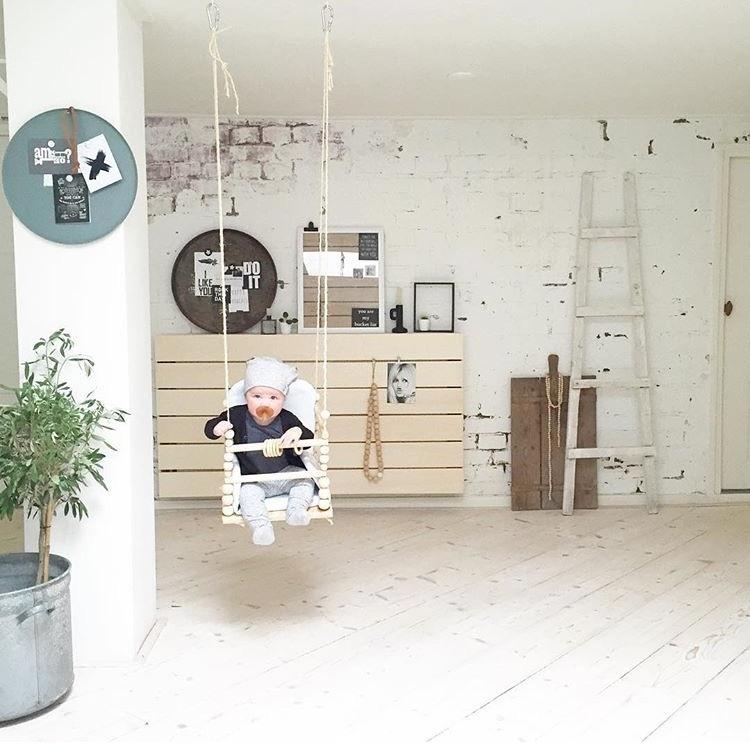 DIY: indoor schommel