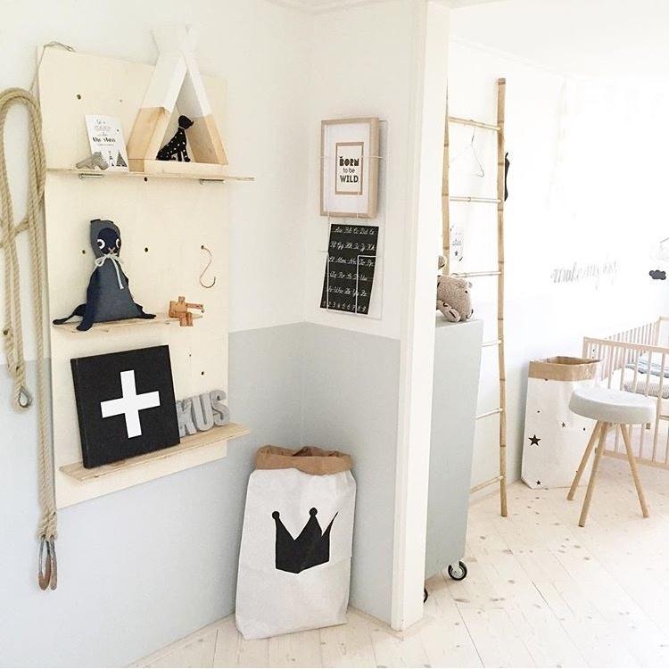 Do it yourself: wandrek voor de babykamer of kinderkamer