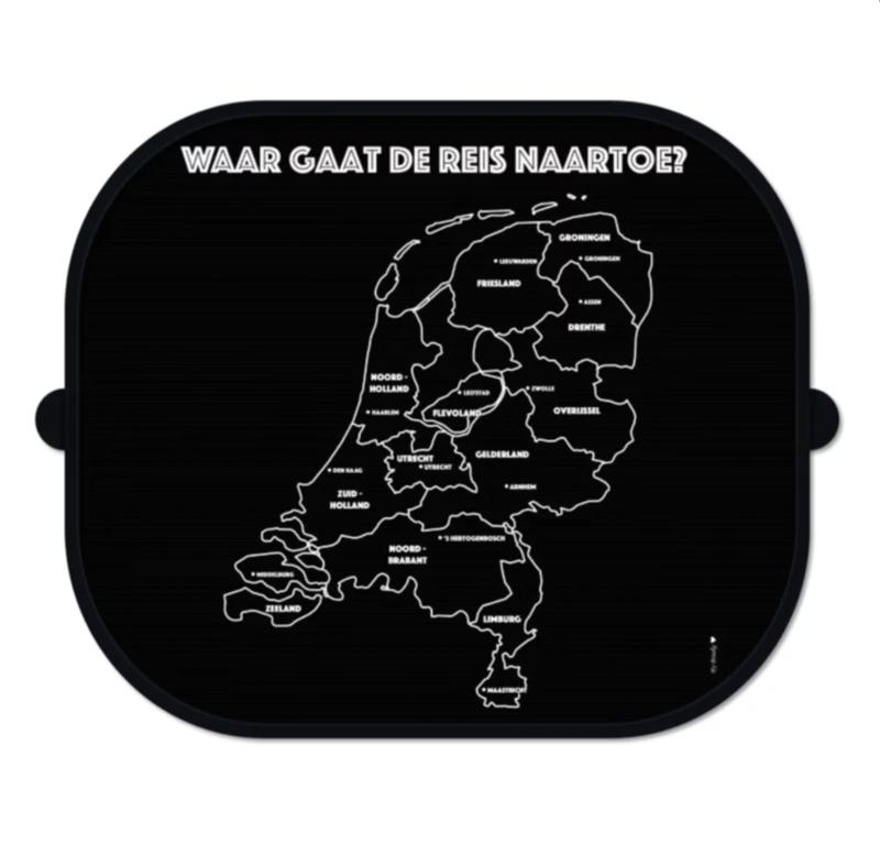 Zonnescherm auto   zonbescherming onderweg   Nederland