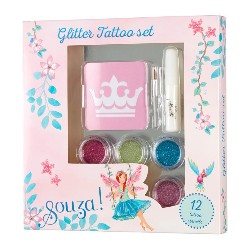 Glitter tattoo set | Souza