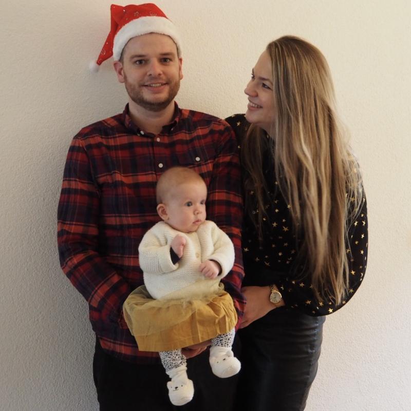 Uitgelicht: Eerste feestdagen als gezin zijn goud waard