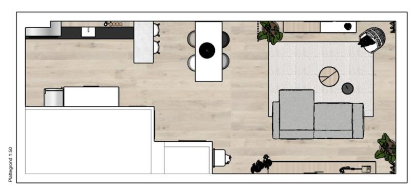 Verbazingwekkend De functies en indeling van onze woonkamer met open keuken YF-23