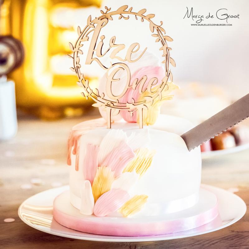 Oh table you are so sweet: sweet table met een gouden randje