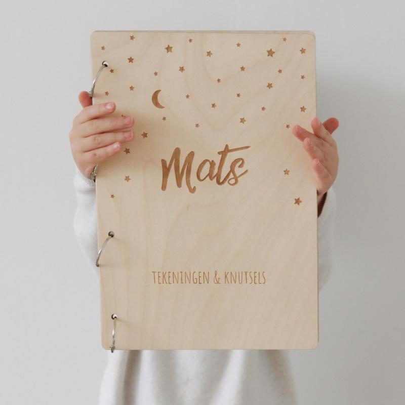 Knutsel bewaarboek van Mats
