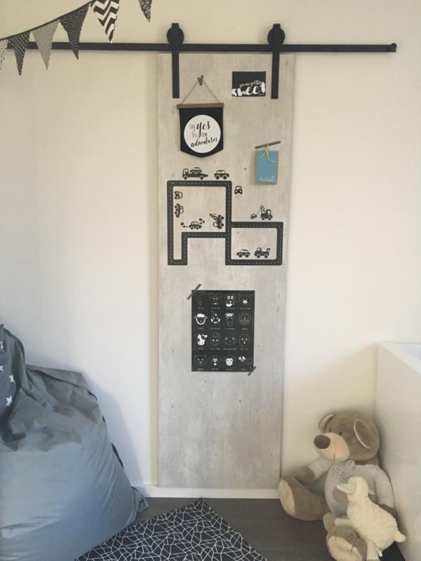 DIY: schuifdeur / decoratiepaneel