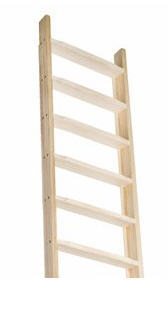Ladder met horizontale treden