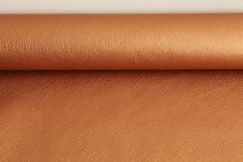 Metallic Kunstleer Copper