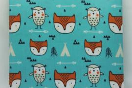 Owl Fox Geplastificeerd