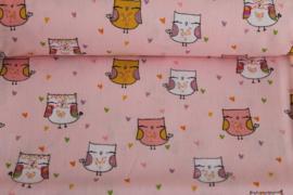 Glitter Owl Pink