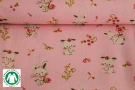 GOTS Lapin Pink