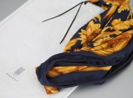 """Morpho"" silk scarf gift"