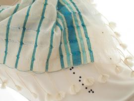 """linum II"" cotton scarf"