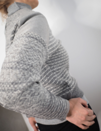 """Desdemona"" redesign wool sweater"