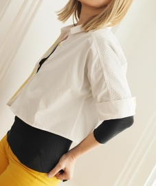 """""""Aoede"""" cropped shirt"""