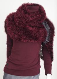 """Wabi-sabi XVIII"" hand knit cowl"