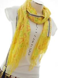 """""""Anthea IV"""" printed pashmina scarf"""