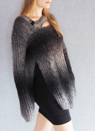 """Hippolyta"" handknit long sweater"