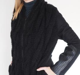 """Anaea"" hand knit long cardigan"