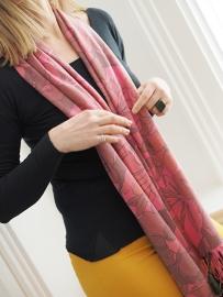 """""""Anthea II"""" printed pashmina scarf"""