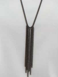 """Elvy"" metal chain necklace"