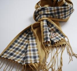 """""""Helios II"""" unisex virgin wool scarf"""