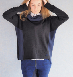 """""""Arsippe""""wool cowl sweater"""