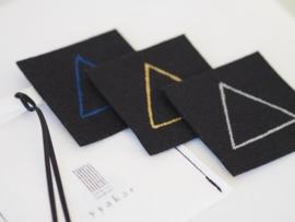 """Pythagoras"" felt coasters gift set"