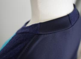 """ Ronin "" redesign wool/scuba mix sweater"