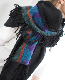 """Omphale""  wool / cashmere  scarf"