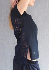 """""""Kyme"""" lace mix top"""
