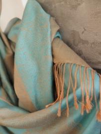 """Ladakh IV"" pashmina scarf"