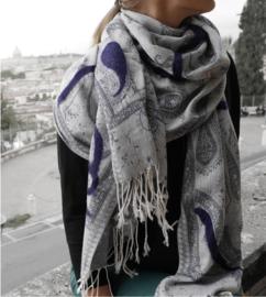 """""""Ladakh V"""" pashmina scarf"""