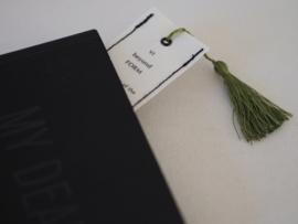 """The WARRIOR"" bookmark"