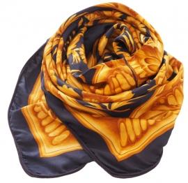 """Morpho I"" silk scarf"