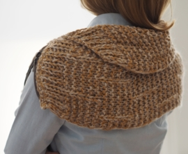 """Wabi-sabi XIII"" hand knit cowl"