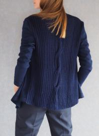 """Brontes"" hand knit cardigan"