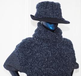 """Abner"" wool cowl sweater"