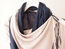 """""""Capra II"""" cashmere scarf / wrap"""