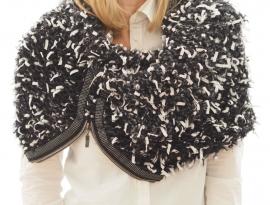 """Wabi-sabi XIV"" hand knit cowl"