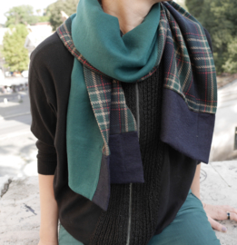 """CLEON"" wool & cashmere scarf"