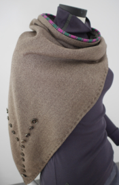 """Wabi-sabi XX""  virgin wool cowl"