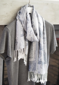 """Unisex III"" pashmina scarf"