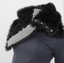 """Wabi-sabi XXI"" hand knit cowl"