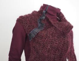 """Wabi-sabi XVII"" hand knit cowl"
