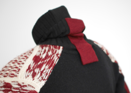 """ Garnet "" redesign wool sweater"