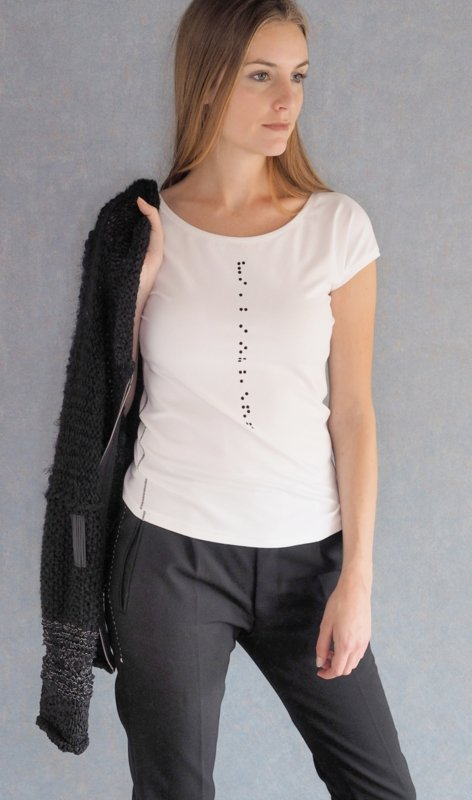 """Braille I"" top"